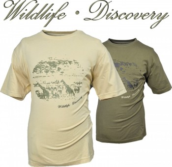 10527020-710- T-Shirt - Outdoor- Wildlife Discovery in sand-natur